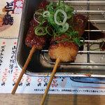 串かつじゃんじゃん - 味噌かつ(税込280円)