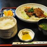 姫松屋 - 雲仙和牛定食