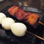 26461922 - うずら&スタミナ(各¥100)