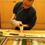 鮨 のぐち - 松の司 純米吟醸 入りまーーーす!!