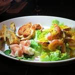 ナポリピッツァ アランジャルシ - 前菜盛り合わせ