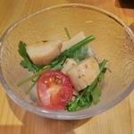 しん - 貝柱のサラダ