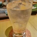 しん - ビール×2の後は、ハイボールでシュワシュワしましょう~(結局4杯飲んだか?)