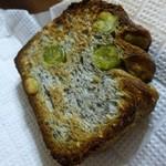 26464598 - うぐいす豆とゴマの食パン 1/2 ¥350