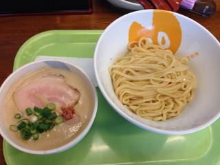 拳10ラーメン - 豚ドロつけ麺