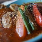 Rocca - 料理写真:スーパーチキンみそカレー