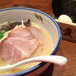 麺や純氣 - のり玉そば(850円)