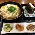 ひさご - 料理写真:玉子とじうどん定食530円
