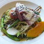 カフェレストラン グラッチェ - イタリア産生ハムと旬野菜のジェノベーゼ