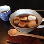 酒肴 BAR 花ござ - おしるこ500円