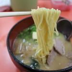 竹家ラーメン - 料理写真:味噌ラーメン。バタートッピング。