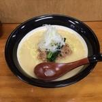 きどりらーめん - 鶏白湯(とりぱいたん)スープ
