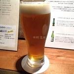 VIA DRITTO - シャンディーガフ(550円)