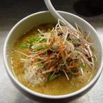 フジヤマロック - 味噌カレーヌードル 800円辛さ普通