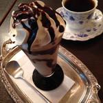 ピーベリー - モカフロスティ、甘くて冷たくて美味