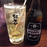 紅とん - ホッピーセット・300円(1杯目) ※1杯目は、ナカ焼酎サービス