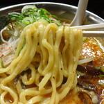フジヤマロック - 麺アップ