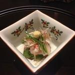 日本料理 瀬名 - 酢の物