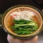 日本料理 瀬名 - 沢煮鍋