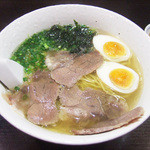 麺工房 武 - 牛塩味玉ラーメン(880円)