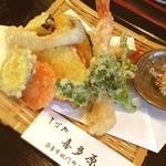 そば処 喜多原 - 天麩羅と蕎麦のセット☻