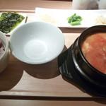 26479591 - 牛すじスンドゥブセット ¥1245