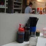 柳屋食堂 - 水はセルフ