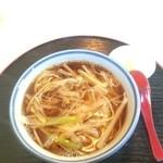 籐寿庵 - ねぎそば 550円