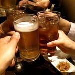 居酒屋 かわぞえ - 乾杯!!