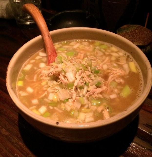 和味 - 鳥がらスープ素ラーメン(680円)