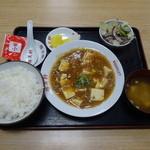 勝美軒 - 麻婆豆腐定食