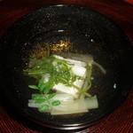 あさば - 太刀魚山菜椀