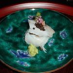 あさば - 桜鯛、アオリ烏賊造り