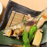 四季肴酒 なにわ割烹 たく庵 - 鮎の焼き物