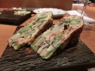 和音 - 春野菜のオムレツ、これも美味しかったなぁ~♪