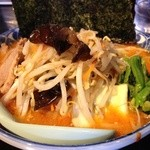 とんぱた亭 - 辛子味噌野菜ラーメン(950円)
