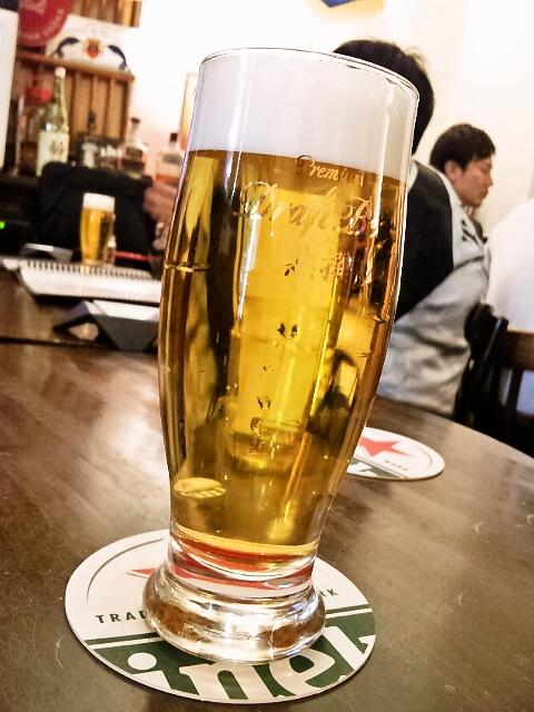プルーカフェ - ビールはアサヒ熟撰