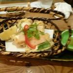 竹の庭 - 湯葉のチーズはさみ揚げ