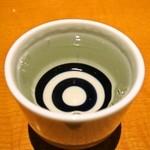たまゆら - 満寿泉純米(半合)