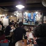 麺飯食堂 八右衛門 - 店内の様子