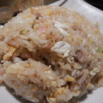 麺飯食堂 八右衛門 - 半チャーハン