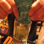 ドブ六九 - 焼酎水割り青汁入り¥600