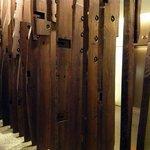 ビランチャ - その他写真:エレベータ前にこんなオブジェが。ん~、どんな感性でこれを置いたんだろうか?私には理解できないオブジェでした。