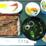 うなてん - 料理写真:うな重梅1900円