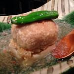 舞桜 - レンコン饅頭とかに餡