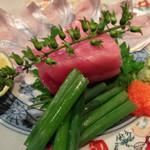 舞桜 - 太刀魚と大トロの刺身
