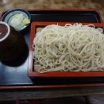 豊年屋 - もり そば(500円)
