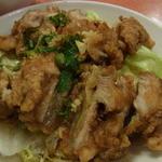 26491752 - 油淋鶏850円(ランチ)2014年4月21日龍鳳酒家