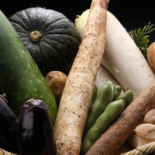 「季節の野菜」にこだわり