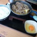 26493718 - 吉野家 牛すき鍋膳 大盛680円